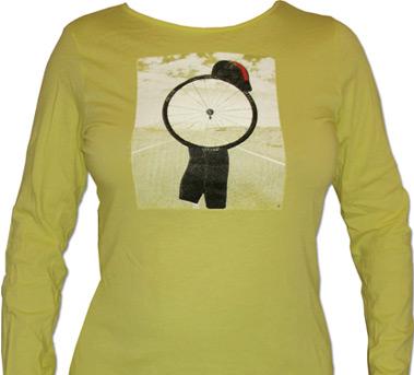 Bello Design Women 39 S Long Sleeve Yellow T Shirt